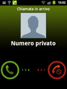 scoprire chiamate anonime