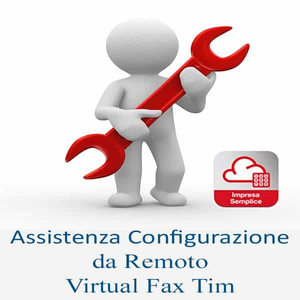 configurazione Virtual Fax Tim