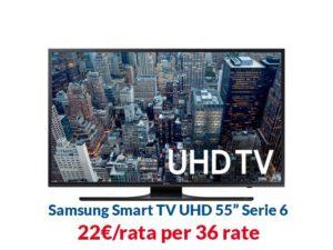 Prodotti connessi TIM -Tv-Samsung-Rate